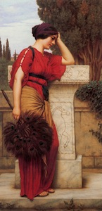 La Pensierosa- The Thinker by John William Godward