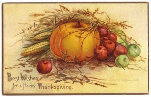 I wish you a joyous Thanksgiving!
